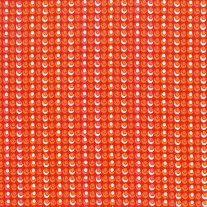 Mondmasker Red Retro Circles