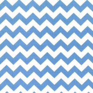 Mondmasker Chevron Blue Stripes