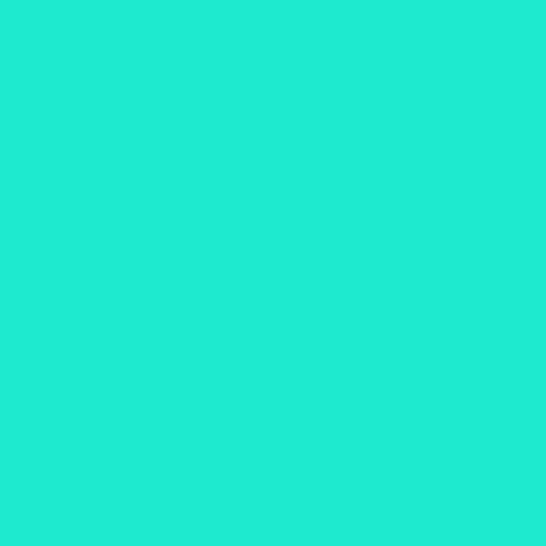 uni-color turquois