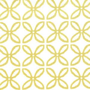 Mondmasker Fashion Golden Flowers