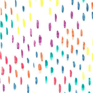Mondmasker Colourful Brushstrokes