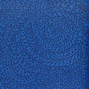 Mondmasker Dark Blue Twigs