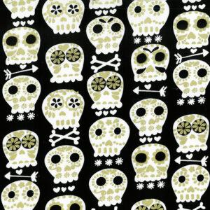 Mondmasker Dia de los Muertos